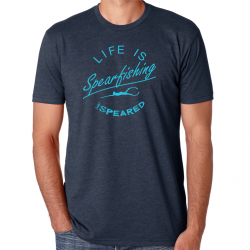 Image from Speared 'Life Is Spearfishing' Short-Sleeved T-Shirt (Men's)