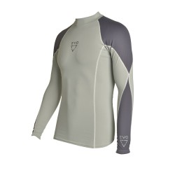 Image from EVO Men's Long Sleeve Rash Guard - 2017
