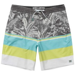 "Image from Billabong Spinner LT 19"" Printed Boardshorts"