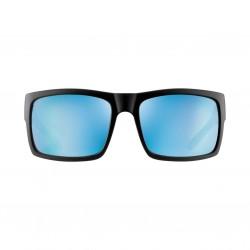 Image from Pelagic Shark Bite Sunglasses - Matte Black Frames with Aqua Mirror Lenses