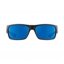 Image from Pelagic Fish Taco Sunglasses - Matte Black Frames with Ocean Mirror Lens