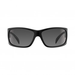 Image from Pelagic Twin Diesel Sunglasses - Matte Black Frames with Grey Lenses