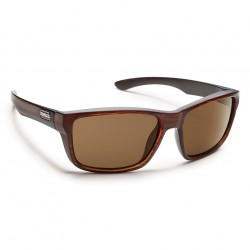 Image from Suncloud Mayor Polarized Polycarbonate Sunglasses (Men's) - Burnished Brown/Brown