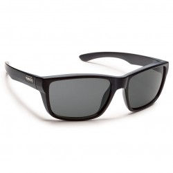 Image from Suncloud Mayor Polarized Polycarbonate Sunglasses (Men's) - Matte Black/Gray