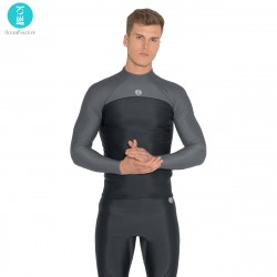 Image from Fourth Element Thermocline 2mm 1/4 Zip Neoprene-Free Long-Sleeve Wetsuit Top (Men's)