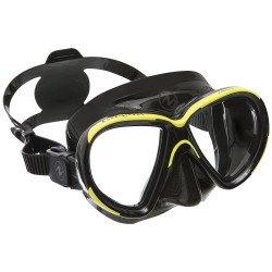 Image from Aqua Lung Reveal X1 Single-Lens Dive Mask Black Yellow