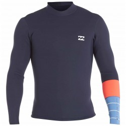 Image from Billabong Revolution Tri Bong 2MM Long-Sleeve Wetsuit Jacket