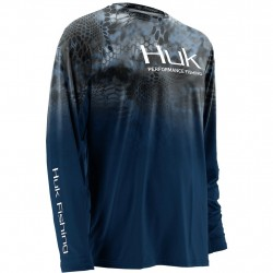 Image from Huk Kryptek Fade Icon +30UPF Long-Sleeve Sunshirt (Men's)