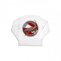 Image from Native Outfitters Lobster Pro UPF 50+ Long-Sleeve Sun Shirt (Men's) - White