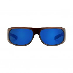 Image from Pelagic Legend Sunglasses - Oak Frames with Cobalt Mirror Lenses