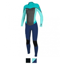 Image from O'Neill Women's Flair Full Scuba Wetsuit 3/2