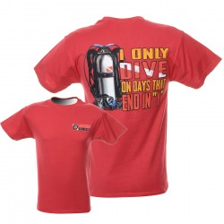 Image from Dive Days Scuba T Shirt