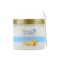 Image from Florida Salt Scrubs Orange 12.1 oz Jar