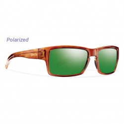 Image from Smith Outlier Polarized Sunglasses (Men's) - Honey Tortoise/Green Sol-X Mirror