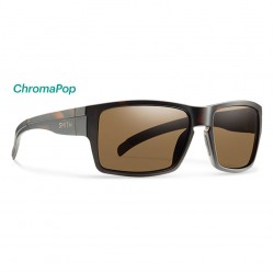Image from Smith Outlier CL Chromapop Polarized Men's Sunglasses - Matte Tortoise/Brown