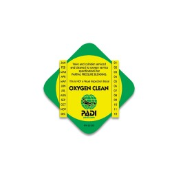 Image from PADI Enriched Air Decal - O2 Clean
