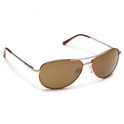 Image from Suncloud Patrol Polarized Polycarbonate Sunglasses - Tortoise/Brown