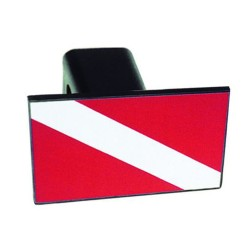 Image from Dive Flag Towing Hitch Cover 2 Inch