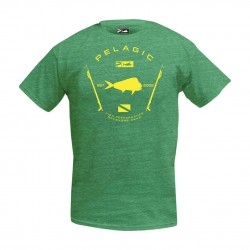 Image from Pelagic Premium Electric Dorado Tee