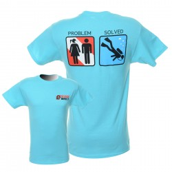 Image from Problem Solved Dive T Shirt