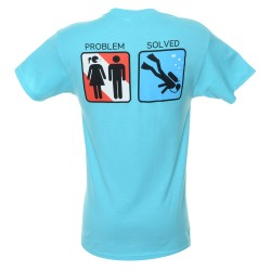 Image from Problem Solved Dive T-Shirt