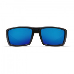 Image from Costa Rafael 580P Sunglasses - Blue Mirror Lenses with Black Teak Frame