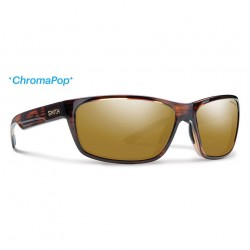 Image from Smith Redmond Chromapop+ Polarized Sunglasses (Men's) - Tortoise/Bronze Mirror