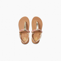 Image from Reef Little Twisted T Sandals (Kids)