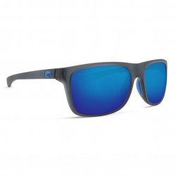 Image from Costa Remora 580P Polarized Polycarbonate Sunglasses - Matte Crystal Smoke/Blue Mirror