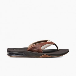 Image from Reef Fanning II Leather Church-key Sandal (Men's)
