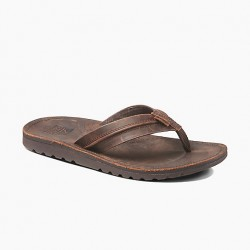 Image from Reef Voyage Lux Waterproof Leather Sandals (Men's)