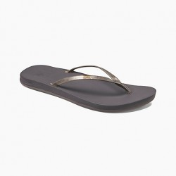 Image from Reef Cushion Bounce Slim Synthetic Vegan-Leather Sandals (Women's)
