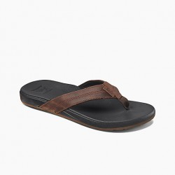Image from Reef Cushion Bounce Phantom LE Leather Sandals (Men's)