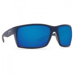 Image from Costa Reefton 580P Sunglasses (Men's) - Matte Blue/Blue Mirror