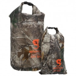 Image from Gecko Realtree 2-Pack Lightweight Compression Dry Bag - Xtra Camouflage