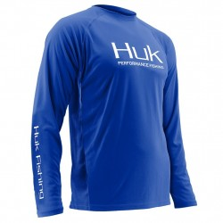 Image from Huk Performance Vented +30UPF Long-Sleeve Sunshirt (Men's)