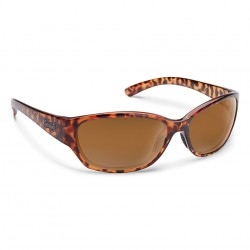 Image from Suncloud Duet Polarized Polycarbonate Sunglasses (Women's) - Tortoise/Brown
