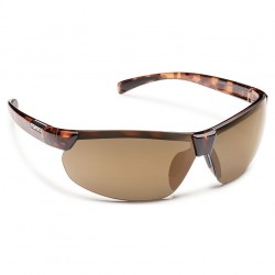 Image from Suncloud Switchback Polarized Polycarbonate Sunglasses (Men's) - Tortoise/ Sienna Mirror
