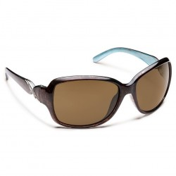 Image from Suncloud Weave Polarized Polycarbonate Sunglasses (Women's) - Tortoise/Brown
