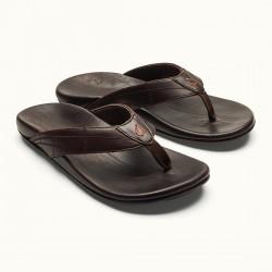 Image from OluKai Hokule'a Kia Leather Sandals (Men's)