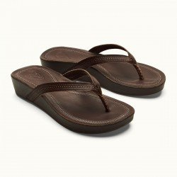 Image from OluKai Ola Leather Wedge Sandals (Women's)