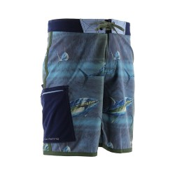Image from Huk KC Scott Tuna Baitball UPF 30 Boardshort (Men's)