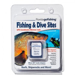 Image from Florida Go Fishing Martin County GPS Dive and Fishing Locations
