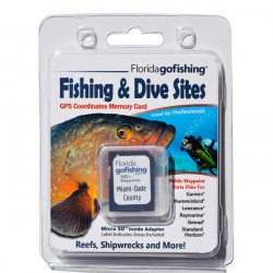 Image from Florida Go Fishing GPS Fishing & Dive Sites Memory Card - Miami Dade County
