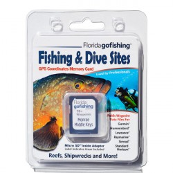 Image from Florida Go Fishing GPS Fishing & Dive Sites Memory Card - Middle Florida Keys