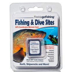 Image from Florida Go Fishing GPS Fishing & Dive Sites Memory Card - Palm Beach County