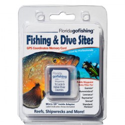 Image from Florida Go Fishing GPS Fishing & Dive Sites Memory Card - St. Lucie & Indian River County