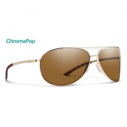 Image from Smith Serpico 2.0 ChromaPop™ Polarized Sunglasses (Men's) - Gold/Brown