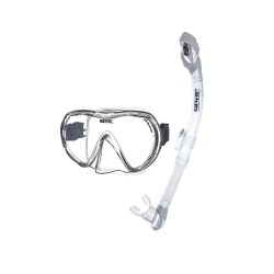Image from Seac X-Frame Single-Lens Mask and Vortex Dry Snorkel Set
