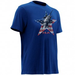 Image from Huk KC Scott American Marlin T-Shirt (Youth)